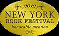 NY Book Festival Award