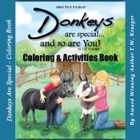 Donkeys Are Special - Coloring Book